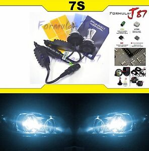LED-Kit-7S-50W-9012-HIR2-8000K-Icy-Blue-Two-Bulbs-Head-Light-Dual-Beam-Replace