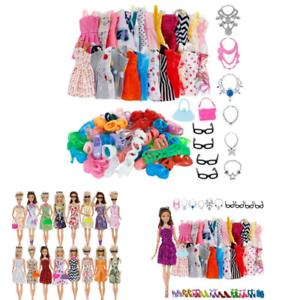 32pcs-Set-Bambola-Vestiti-Moda-32-oggetto-Accessori-per-11-12-POLLICI-Party-Ragazza-Bambola