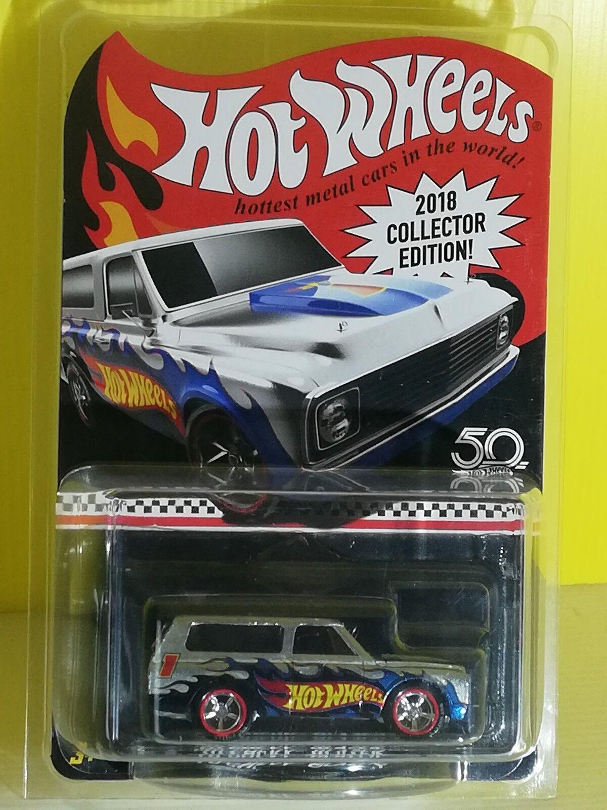 Hot Wheels '70 Chevy Blazer Exclusive 2018 Collector Edition