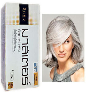 Details zu DCASH Permanent Hair Dye Color Cream Super Color # HA 910 ASH  GRAY HIGHLIGHT