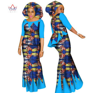 71e8b9ec1351b Details about African Women Skirt and Blouse