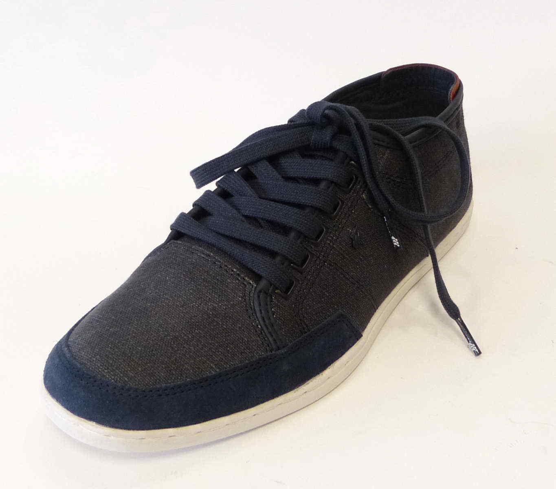 Boxfresh Leinen Sneaker Sparko E15009 blau Canvas Textil Stoff Schuhe