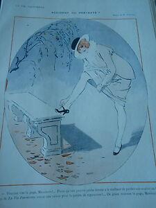 Accident-ou-Pretexte-Malheur-de-perdre-son-soulier-Print-Art-Deco-1913