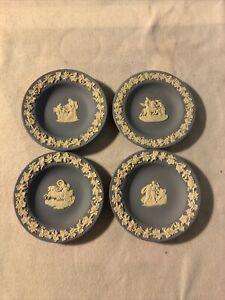 Blue-Wedgewood-Decorative-Mini-Plate-Bundle-On-4-11cm-4-25-Inches-Joblot