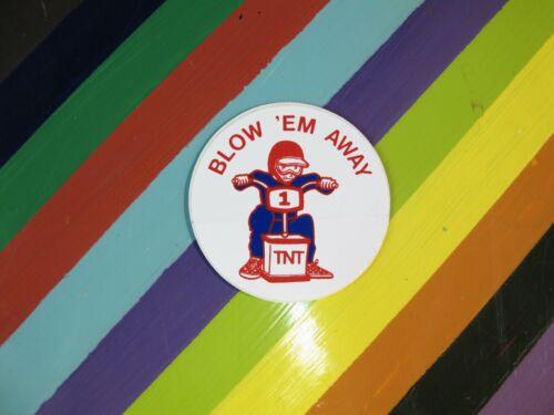 JMC Torker Trick Tops Taya Clark/'s vtg 1980s 1990s Asstd BMX sticker