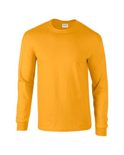 GILDAN Ultra Cotton Manica Lunga T-shirt