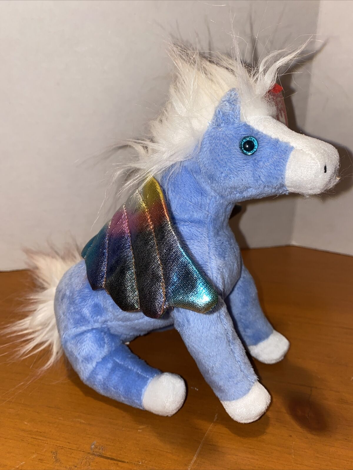 """Ty NEW Beanie Baby Babies PEGASUS the Winged HORSE 7/"""" MWMT FREE Shipping!!"""