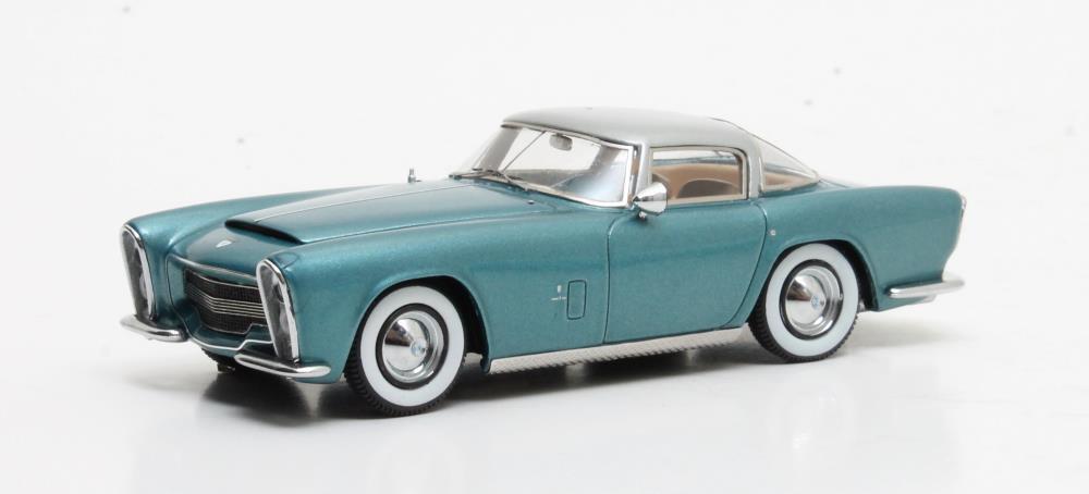 Dodge sturm zeder z-250 von bertone  Blau metallic  1953 (1 43   mx40405-011)