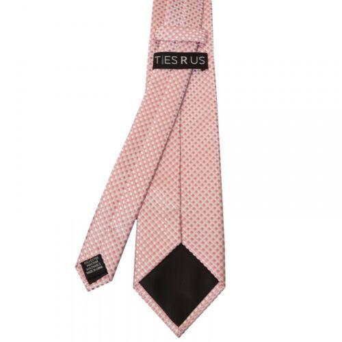 Rose Gold Diamond Neat Classic Men/'s Tie and Pocket Square Set Regular Tie