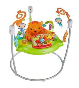 Fisher Price ROARING RAINFOREST JUMPEROO Animals Baby Toddler Activity Toy 3m+