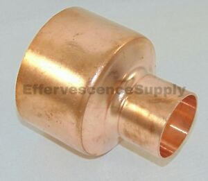 """3/"""" x 2/"""" Copper Reducer Coupling Copper Bell Reducer *Plumbing* FREE SHIPPING"""
