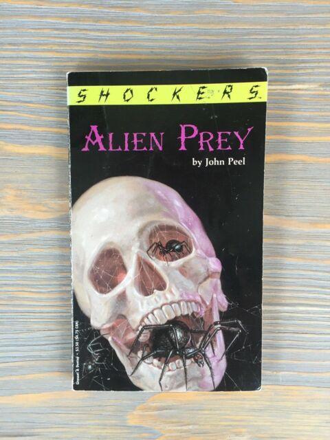 Alien Prey by John Peel  Shockers 1993, Paperback Out of Print Horror YA 1st Ed