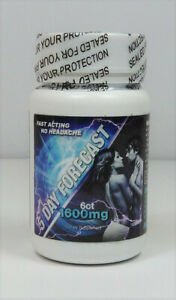 5-DAY-FORECAST-1600-Male-Sexual-Supplement-Enhancement-6-Pill-Bottle-100