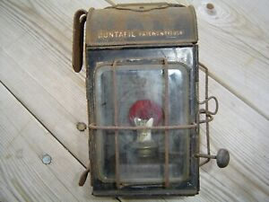 VINTAGE-DUNTAFIL-OIL-LAMP-LIGHT-STEAM-LORRY-TRACTION-ENGINE-Etc
