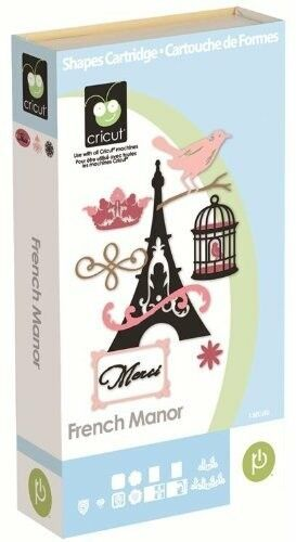 French Manor Cricut cartridge Factory sealed First edition cardboard box