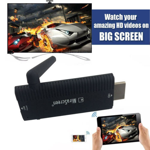 HDMI Wireless Wifi Airplay Phone Screen to TV Video Adapter Mirror Display HDTV