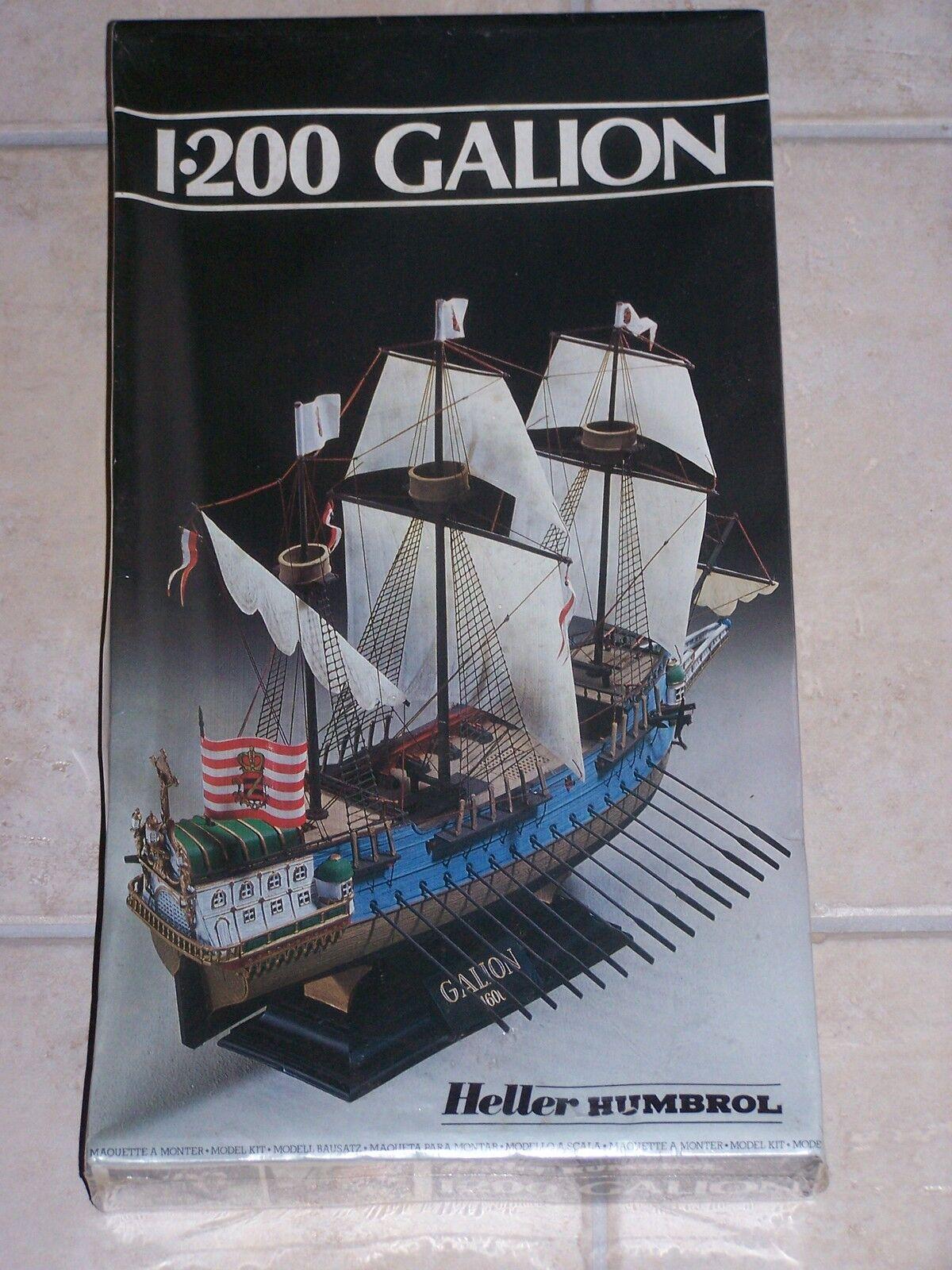 Maquette HELLER  1 200ème GALION