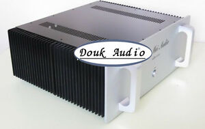 Hi-End-Leistungsverstaerker-Gehaeuse-Aluminum-Chassis-Power-Amplifier-Case-DIY-Box