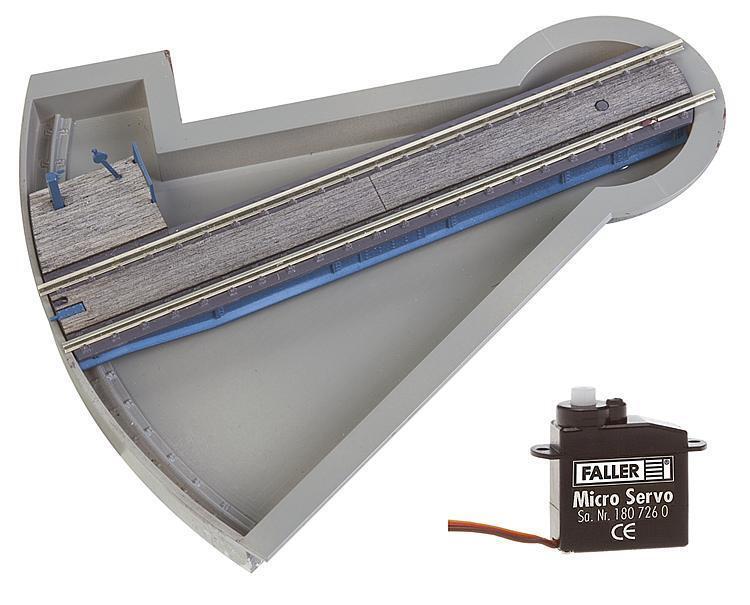 Faller 120275 h0 segmento-Plataforma giratoria