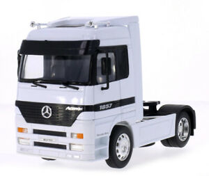 WELLY-TRACTEUR-MERCEDES-BENZ-ACTROS-CAMION-MINIATURE-4X2