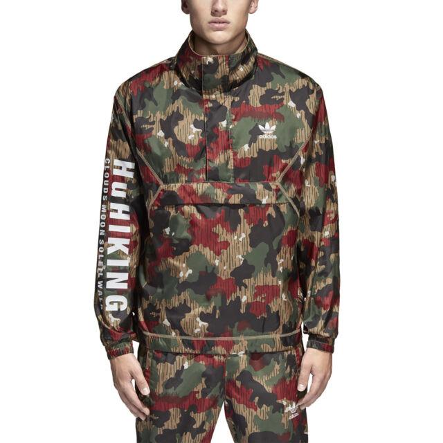 Adidas Originals Pharell Williams Hu Anorak Men's Jacket Camo cy7871