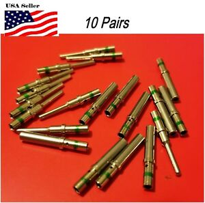 10-pairs-Deutsch-DT-Series-solid-pin-Connector-Male-amp-Female-20-pcs