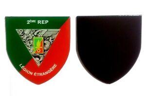 Magnet-flexible-insigne-regimentaire-du-2-REP-LEGION-ETRANGERE-6-x-5-5-cm