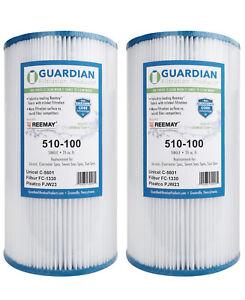 2-Pack-Guardian-Pool-Spa-Filters-Fit-Pleatco-PJW23-C-5601-FC-1330-Aero-Caressa