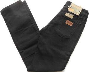 Stretch Droite Coupe Vintage Noir Ajustée Tina Filles Jeans Wrangler tPqHW