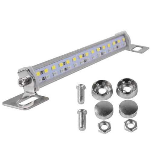 White+Red 30-SMD Bolt-On LED Lamps License Plate Lights Backup Reverse Lights