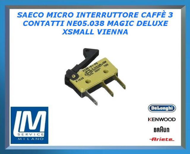 SAECO Microinterruttore per Macchina da Caffè XSmall Syntia Vienna Talea NE05038