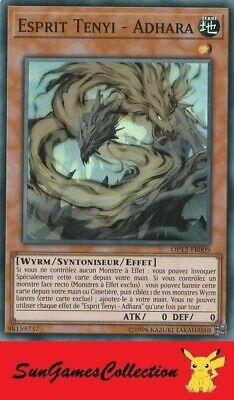 OCCASION Carte Yu Gi Oh ESPRIT TENYI ADHARA OP12-FR009