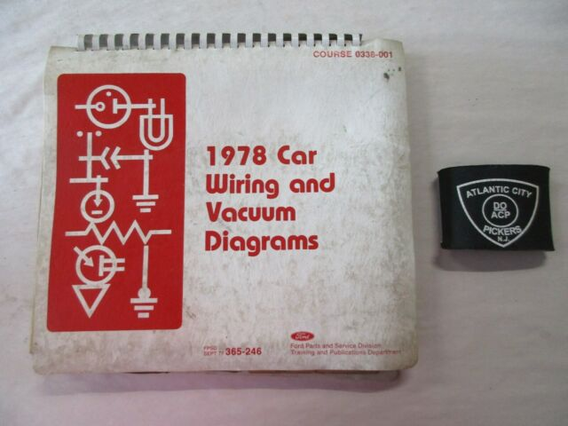 1978 Ford Car Mustang Thunderbird Continental Vacuum
