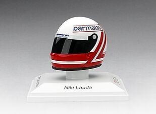 Helmet Niki Lauda 1982 McLaren Parmalat 1 8 Replica Model TRUE SCALE MINIATURES