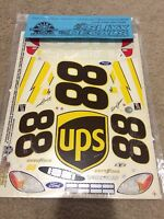 1/10th Sealed Slixx Decals Vintage Nascar 88 Ups Dale Jarrett Ford Taurus
