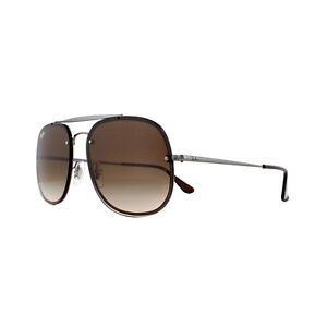 1c8dedeb8d Ray-Ban Sunglasses Blaze The General RB3583N 004 13 Gunmetal Brown ...