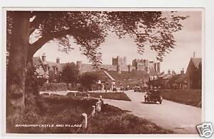 Bamburgh-Castle-Real-Photo-Postcard-c1940-Seahouses
