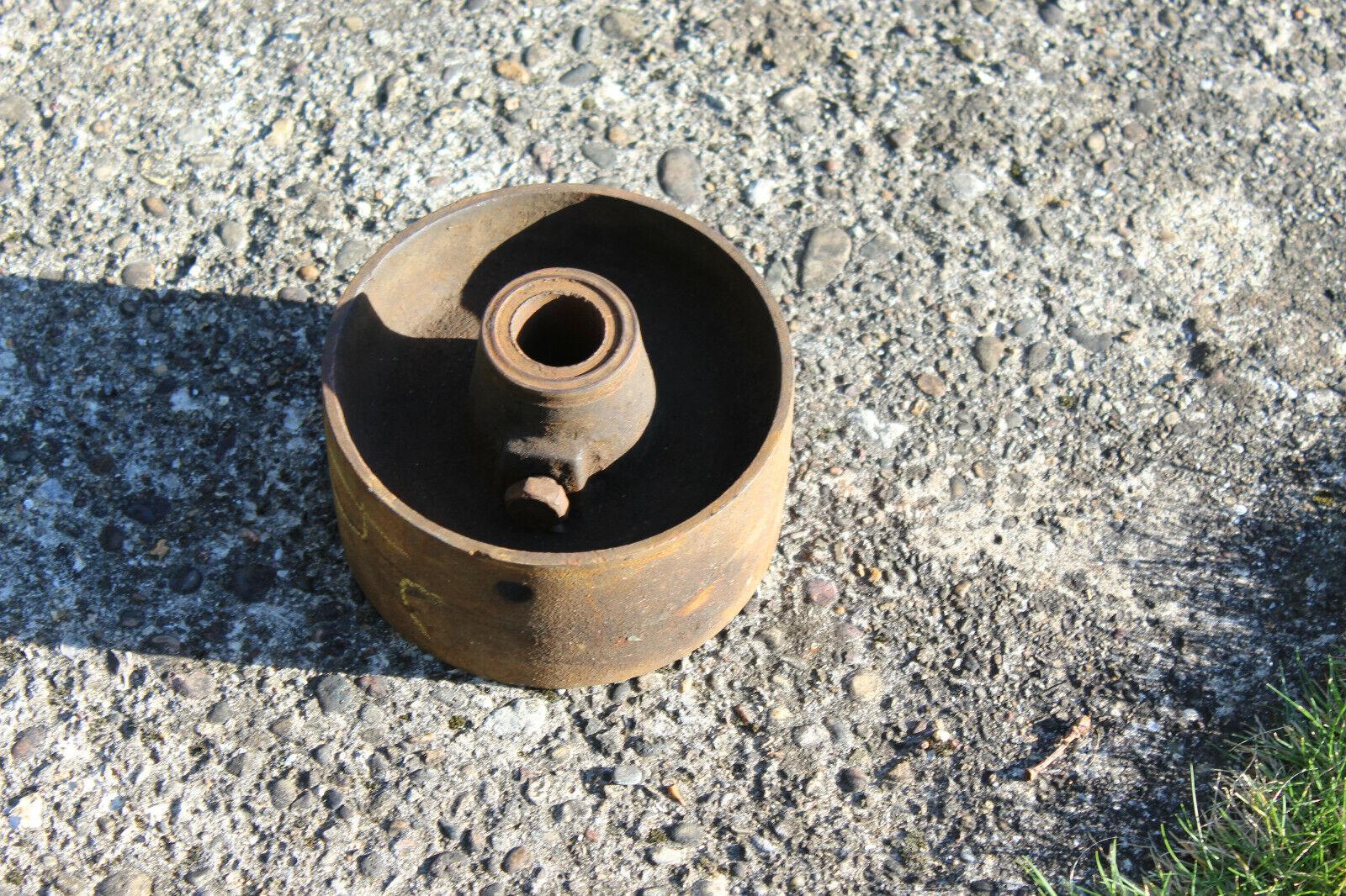 Crown Flat Belt Pulley Wheel 6.5/8