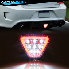 Fits Most Vehicles Triangle Red Led Rear Tail 3rd Brake Lights Stop Safety Lamp Fits 2004 Honda Civic
