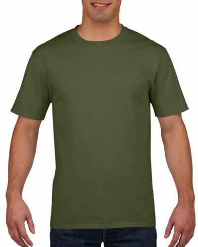 3 Pack Gildan Mens Womens Premium Softstyle Ringspun Plain Cotton T-Shirt Tee