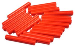 LEGO-Technik-20-x-Achse-4-Noppen-lang-rot-Kreuzachse-3705-NEUWARE