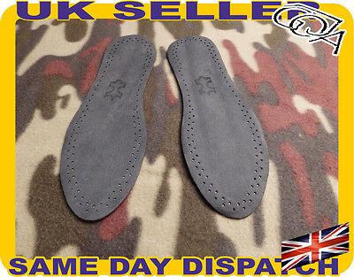 Suave Real De Cuero Negro olor parada de Zapatos plantillas de carbón activo non-folding Barata