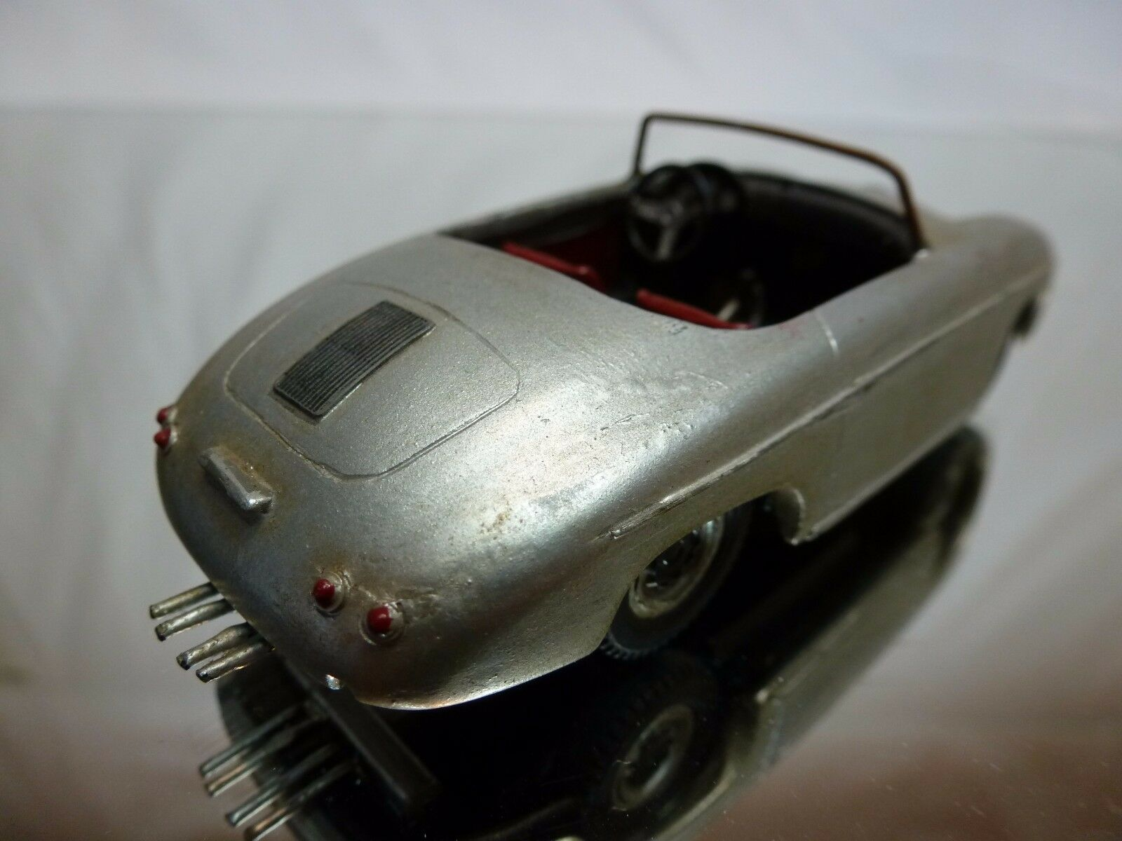 AUTO REPLICAS 8 KIT (built) PORSCHE 356 356 356 SPEEDSTER - plata 1 43 - GOOD CONDITION a0e80d