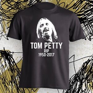 c0480a77 RIP Tom Petty In Memory Of A Legend T Shirt memorial Adult Sizes S ...