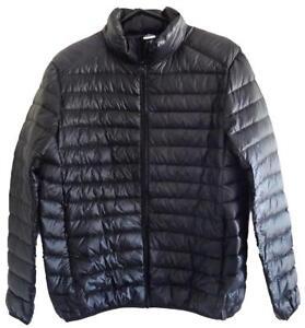 Rip-Curl-CLASSIC-DOWN-PUFFER-JACKET-Mens-Light-Weight-Jacket-New-CJKCI1-Black