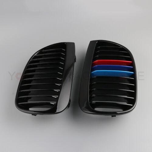 Sport Niere Glänzend Grillgrill Gitter M-Farbe Für BMW E81 E87 1 Series 04-07