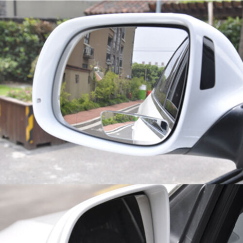 Car Rearview Blind Spot Side Rear View Mirror Adjustable Back Viewing Mirrors x2