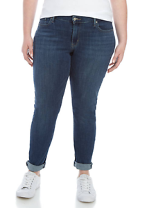 Levis-Jeans-711-Ubergroesse-Mid-Rise-Skinny-Jeans-20w