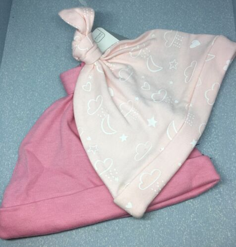 Mothercare Bébé Mon Premier Petit Chapeau Lot de 2 jusqu/'à 3 mois