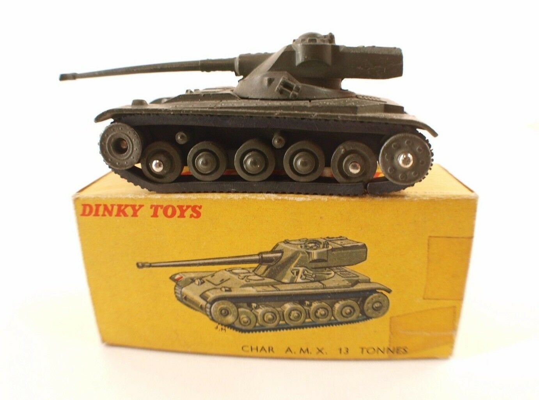 Dinky Toys F N.80 C Char Amx 13 Tonnellate Serbatoio IN